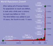 bugüne ve yarına  Dünya Nüfusu